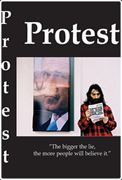 Protest video cover